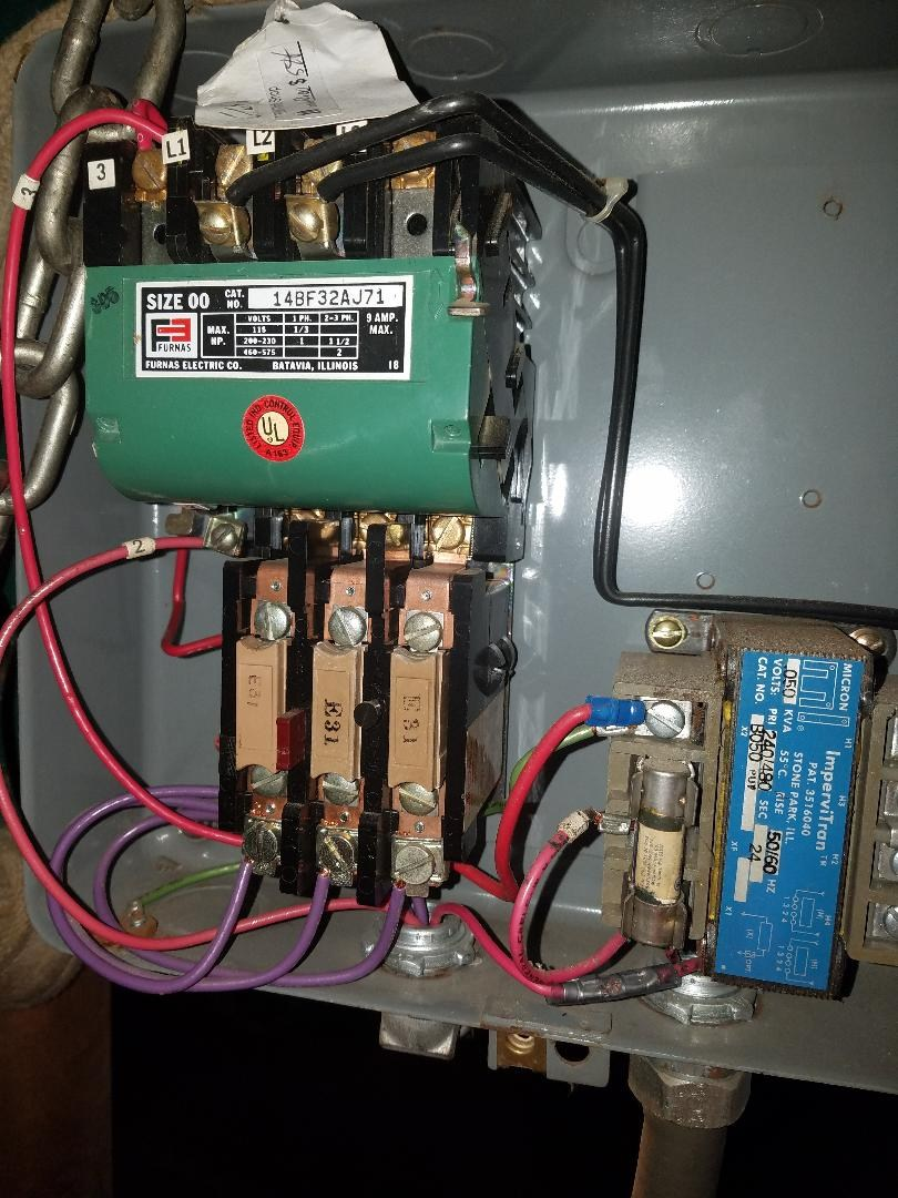 [SCHEMATICS_48ZD]  Furnas magnetic switch wiring for drill press - Power Tools - Power Tool  Forum – Tools in Action | Furnas Magnetic Starter Wiring Diagram |  | Power Tool Forum - Tools in Action